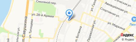 Проскурин-Строй на карте Астрахани