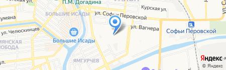 Мир детства на карте Астрахани