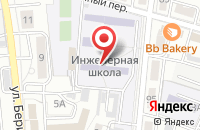 Схема проезда до компании Школа боевого каратэ киокушинкай в Астрахани