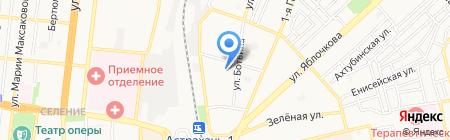 Общеобразовательная школа-интернат №8 на карте Астрахани