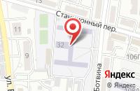 Схема проезда до компании Общеобразовательная школа-интернат №8 в Астрахани