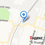 Тамерлан на карте Астрахани
