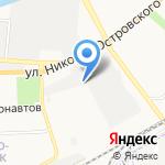 Аврора на карте Астрахани