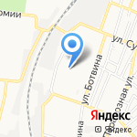 Ягодка на карте Астрахани