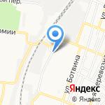 Хлебный домик на карте Астрахани