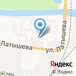 30Тендер на карте Астрахани
