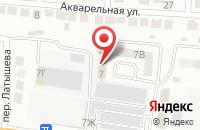 Схема проезда до компании 30Тендер в Астрахани