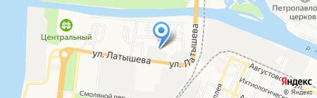 АстраБлок на карте Астрахани