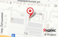 Схема проезда до компании АстраБлок в Астрахани