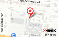 Схема проезда до компании Техно Колор в Астрахани