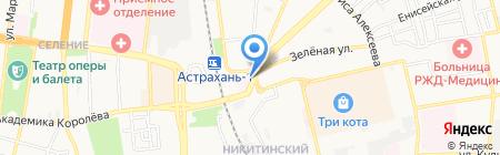 Stels на карте Астрахани
