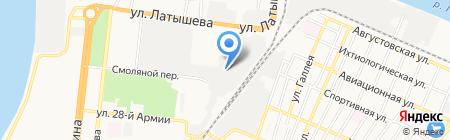 Производственная фирма на карте Астрахани