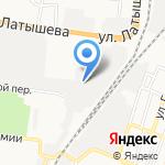 Аквалид на карте Астрахани