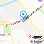 МКС на карте Астрахани