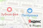Схема проезда до компании Физрук в Астрахани