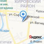 Физрук на карте Астрахани