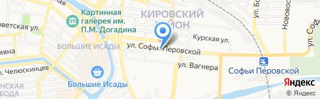 Фирма по продаже металлической сетки на карте Астрахани