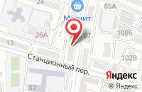 Схема проезда до компании Добрая новость в Астрахани