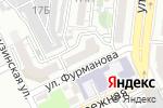 Схема проезда до компании Барсова Стрит в Астрахани
