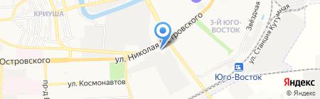 Импульс на карте Астрахани