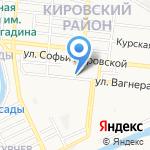 Строитель Поволжья на карте Астрахани