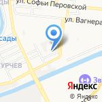 Барсова Стрит на карте Астрахани