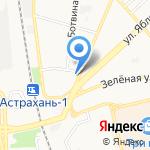 Максима Плюс на карте Астрахани