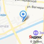 Общеобразовательная школа-интернат №6 для обучающихся воспитанников с ограниченными возможностями здоровья на карте Астрахани