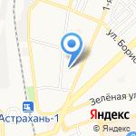 Детский сад №84 на карте Астрахани