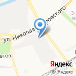 Мемория на карте Астрахани