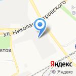 Огнеон на карте Астрахани