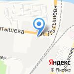 СТРОЙДОМСЕРВИС на карте Астрахани