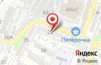 Схема проезда до компании Солнечный в Астрахани