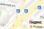 Схема проезда до компании Любимый в Астрахани