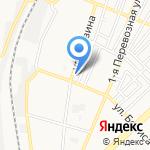 Фрукттерминал на карте Астрахани