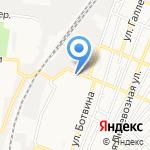 Солнечный на карте Астрахани