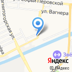 Спортивная школа олимпийского резерва им. В.В. Тихонова на карте Астрахани