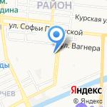 Лингвистенок на карте Астрахани