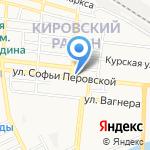Лаваш на карте Астрахани
