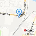 Петербургские канаты на карте Астрахани