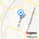 Киоск по продаже хлебобулочных изделий и молочных продуктов на карте Астрахани