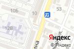 Схема проезда до компании Киоск по продаже хлебобулочных изделий и молочных продуктов в Астрахани