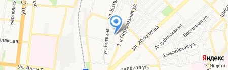 Ашхабад на карте Астрахани