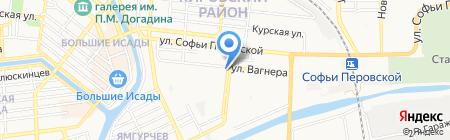 Мираж на карте Астрахани