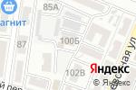 Схема проезда до компании Ашхабад в Астрахани