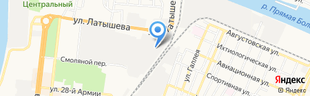 Евростандарт на карте Астрахани