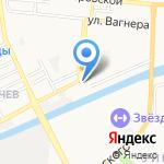 Ависто на карте Астрахани