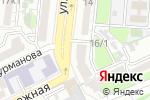 Схема проезда до компании Планета суши от Коляна и Илюши в Астрахани