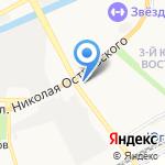 Зверушки на карте Астрахани