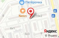 Схема проезда до компании Орион в Астрахани